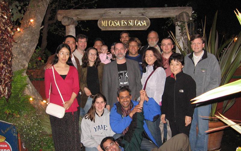 Group dinner Asilomar ENC 2006